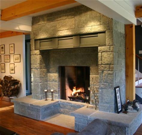 Big Fireplace by Ed Gordon