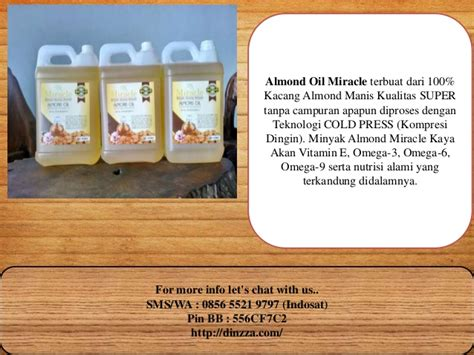 Minyak Almond Di Indo distributor minyak almond 0856 5521 9797 indosat