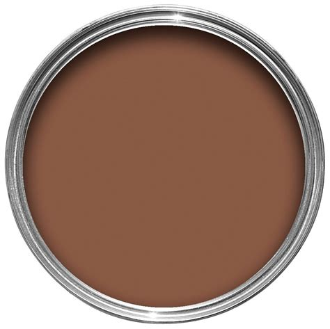 light chocolate brown paint crown solo 174 interior exterior chocolate brown gloss wood