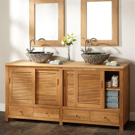 modern bathroom doors modern brown unfinished wooden bathroom cabinet with