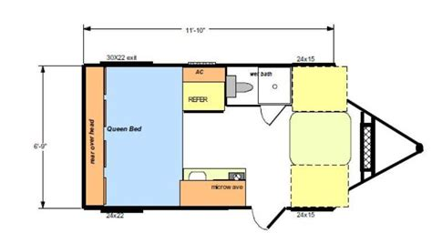 Rv Bunkhouse Floor Plans 2015 riverside rv white water retro 166 travel trailer
