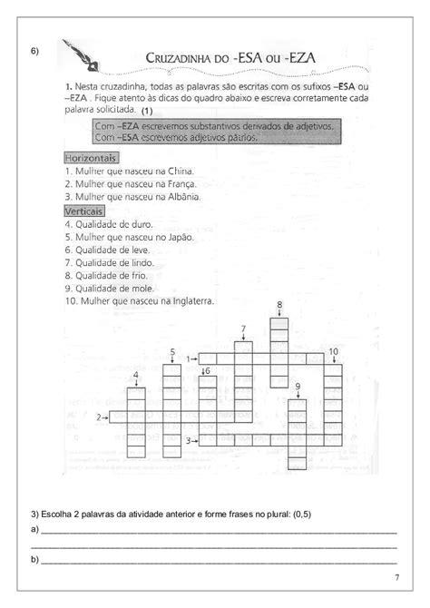 Avaliação de Português 5º Ano 2º bimestre
