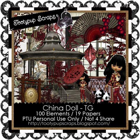 china doll kit tootypup scraps new kit china doll