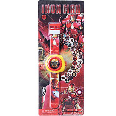 Jam Tangan Proyektor Anak 1 jual mainan anak jam tangan proyektor ironman negozio