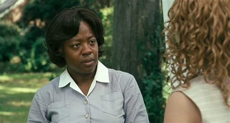 emma stone viola davis structure the help the story department