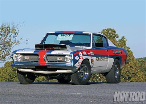 Emblem 24 Ori 1pc Superauto 2 1968 plymouth hemi stock barracuda cuda classic drag racing race rod rods