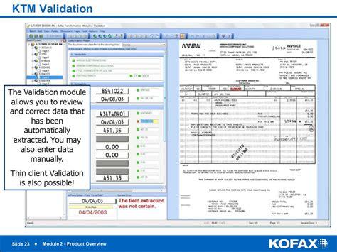 Kofax Ktm Kofax Transformation Modules 5 Module 2 Product