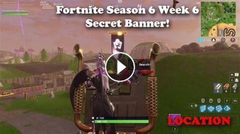 fortnite season  week  secret banner location