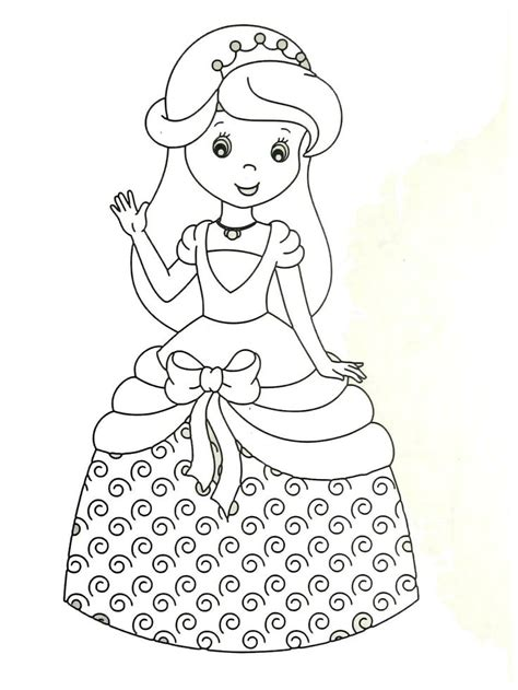 princess coloring book the 83 best princess coloring book pages for images