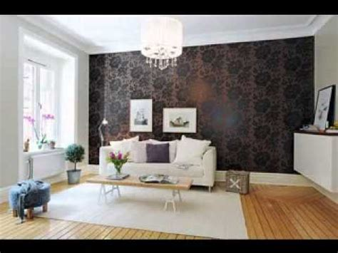 wallpaper ideas for living room feature wall dgmagnets com feature wallpaper decorating ideas living room youtube