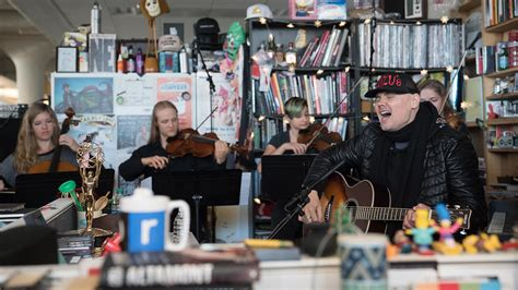 Npr Small Desk Billy Corgan Tiny Desk Concert Wunc