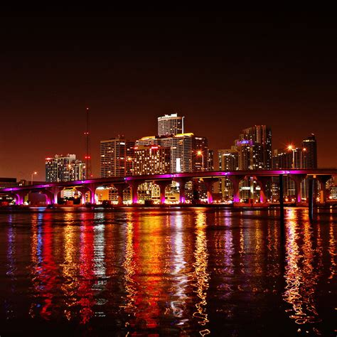 Miami Nights By Isacgoulart On Deviantart Lights Miami Fl