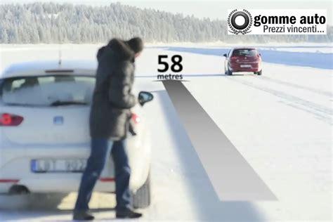 test gomme 4 stagioni test comparativi tra pneumatici invernali estivi e