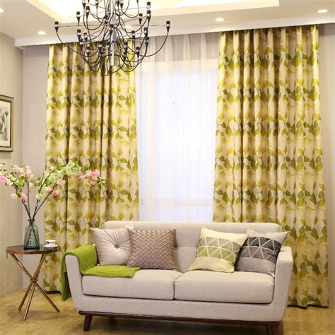 mustard yellow curtains the feng shui of hanging curtains in living room