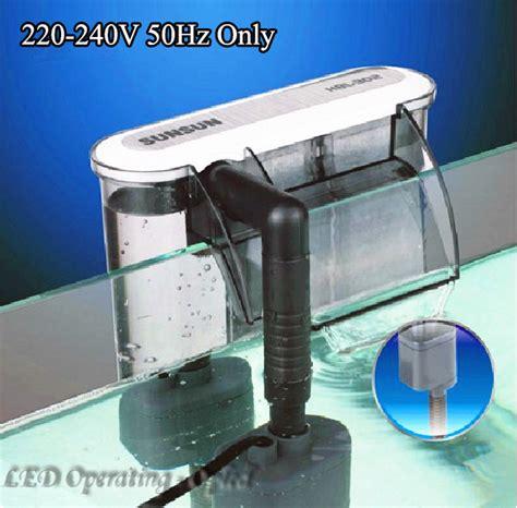 Pompa External Aquarium aliexpress buy 3w external aquarium filter box