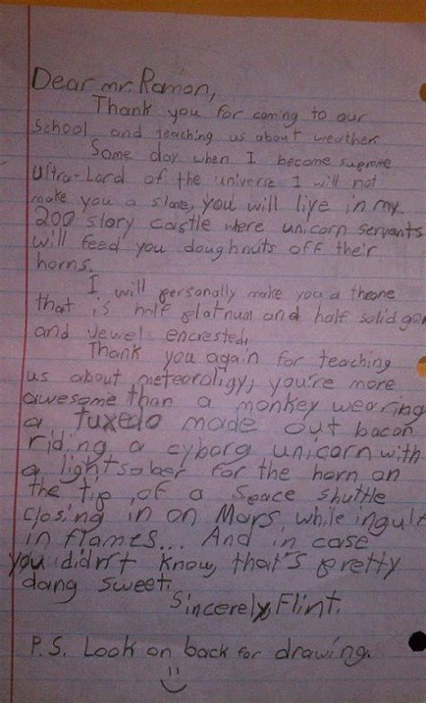 hilarious up letter goes viral more awesome than a monkey in a bacon tuxedo child s
