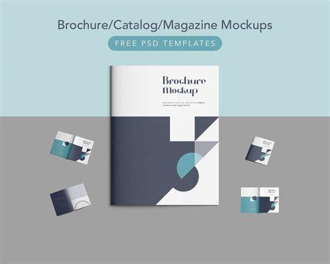 free psd catalog template free brochure catalog magazine mockups free psd
