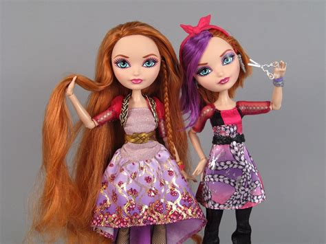 After High O Hair Style Doll How To Do Hair by After High Poppy O Hair 2 Dolls