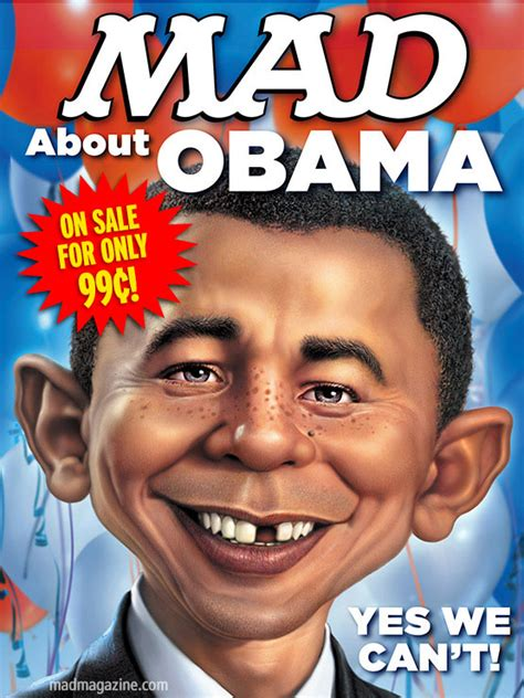 mad magazine obama cover sermon fearless faith i am going to be ok