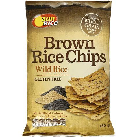 Bron Chips sunrice brown rice chips rice gluten free 156g