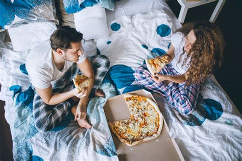 table to eat in bed poll reveals more dinner in bed instead of