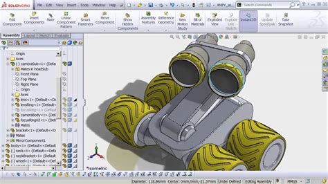 solidworks tutorial robot solidworks robot gallery