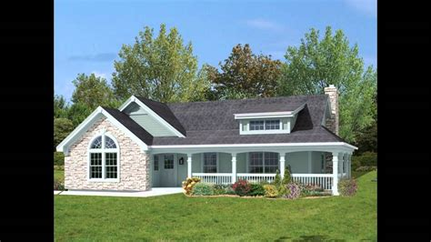 country cottage house plans with porches glamorous house plans with porches wrap around of country cottage creative home