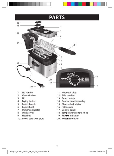 farberware deep fryer parts bruin blog