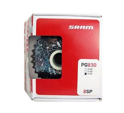 11 32t cassette sram pg830 8 speed cassette 11 32t silver bike cassette