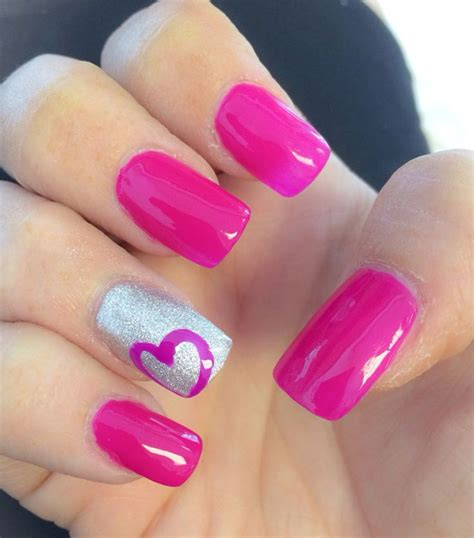 22 cute heart nail designs images for girls sheideas