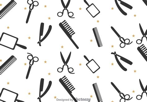 download pattern st tool barber tools pattern download free vector art stock