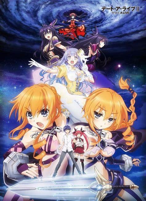 anime genre harem school date a live ii genres comedy harem mecha