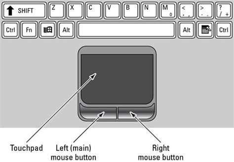 how to use on laptop how to use the laptop mouse pad dummies