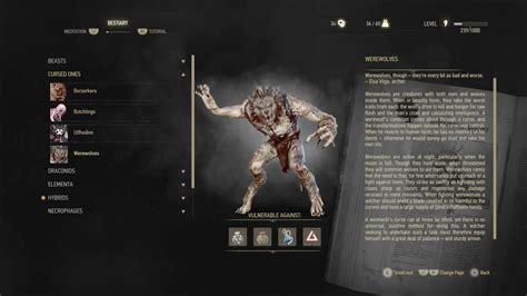 wild hunt witcher 3 werewolf the werewolves of the witcher 3 wild hunt werewolf news