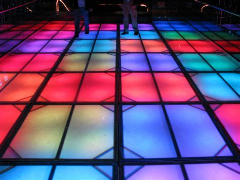 Disco Floor by The Uk Wedding Company The Venue Dresser Funky Led