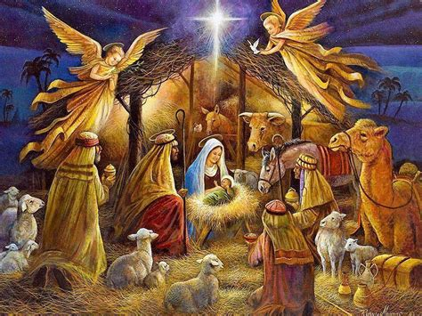 free christmas wallpapers of jesus in a manger jesus wallpapers wallpaper cave