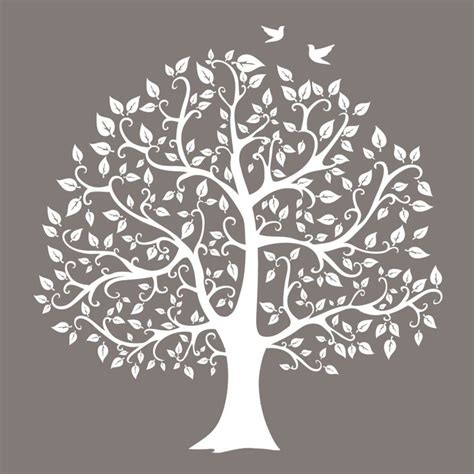 free printable tree wall art neutral tree silhouette urban nest designs future