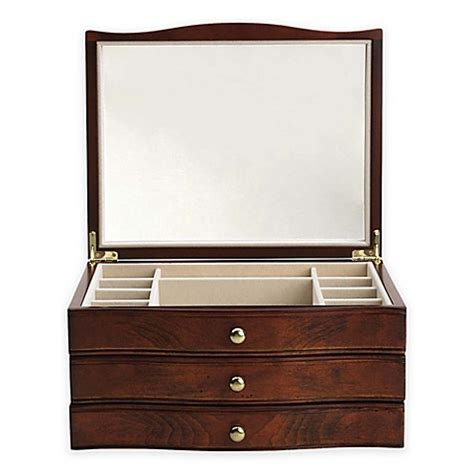 jewelry box bed bath and beyond reed barton hunter jewelry box bed bath beyond