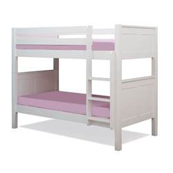 white bunk beds for stompa classic bunk bed white kiddicare