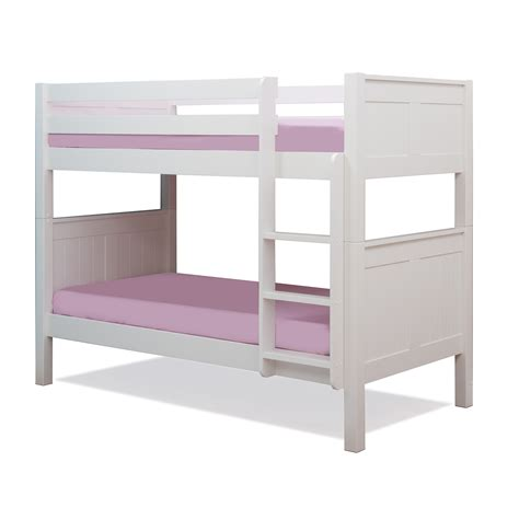Stompa Classic Kids Bunk Bed White Kiddicare Com White Bunk Bed