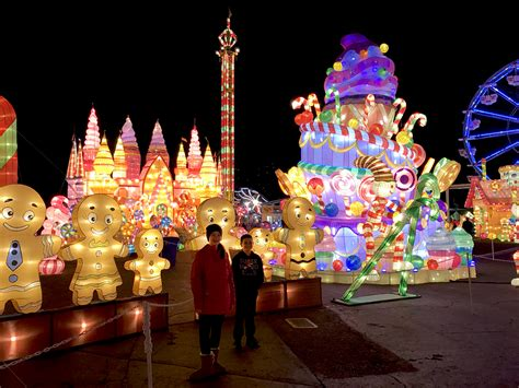 festival of lights sacramento global winter lantern festival at calexpo