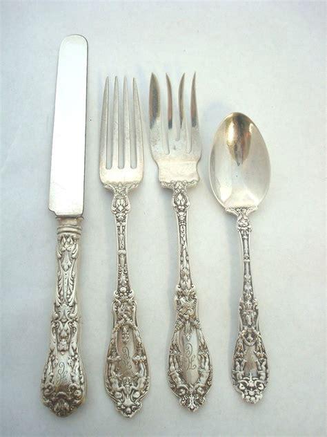 artistic flatware paris by gorham sterling silver flatware set art nouveau