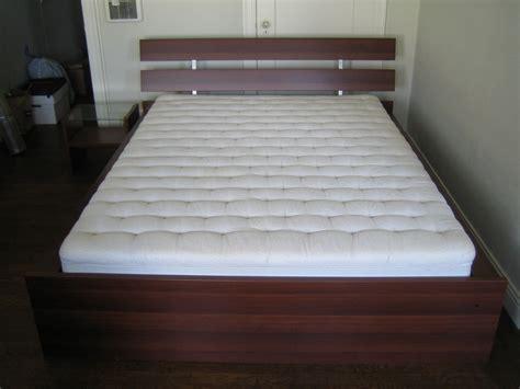 ikea hopen bed frame w dux bed medium brown 69 1