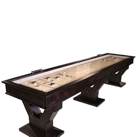 plank and hide shuffleboard table gaston shuffleboard by plank hide