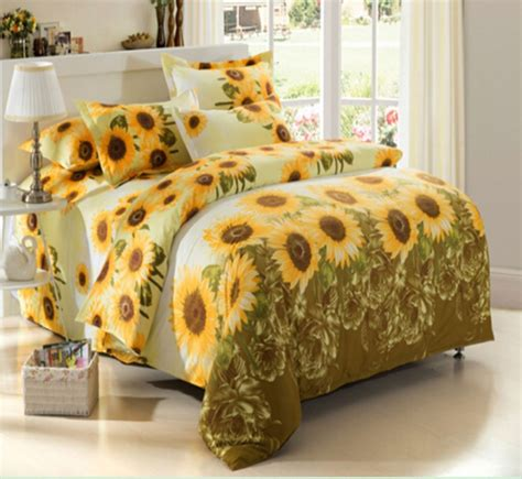 sunflower bedding comforter sets top 10 the most beautiful sunflower bedding sets