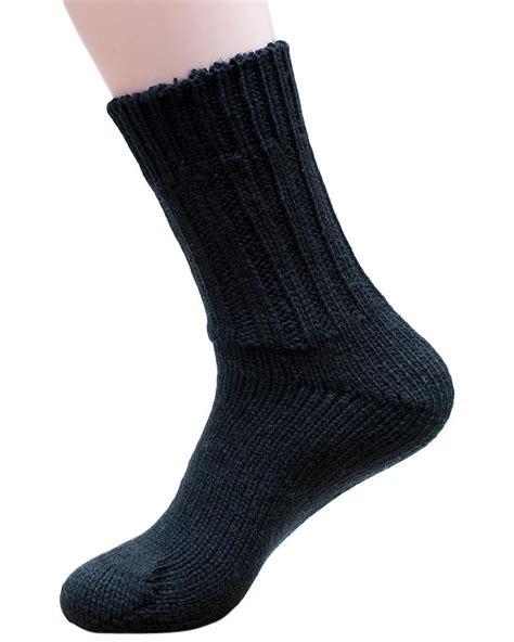 chunky knit socks hirsch natur 100 wool chunky knit socks ebay