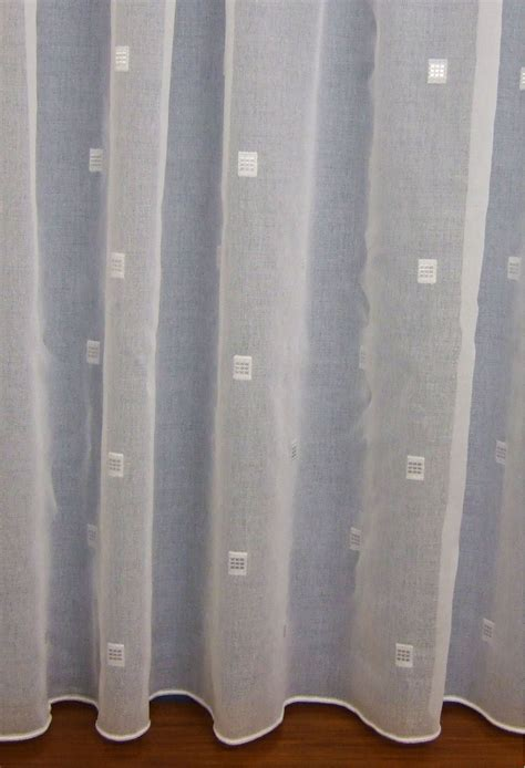 White Voile Curtains Net Curtains Made To Measure Woodyatt