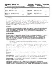 army sop template ebook database