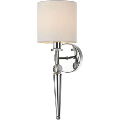 vanalen 1 light polished chrome wall sconce lighting