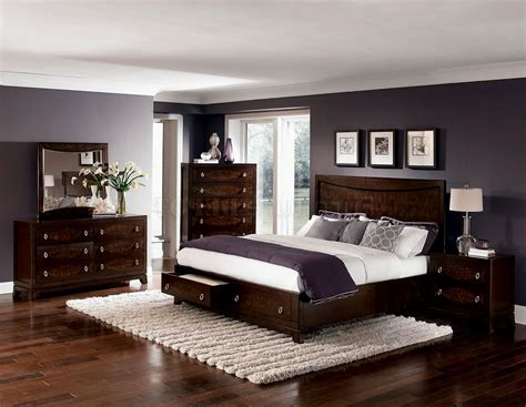 bedroom decor with dark furniture tagged bedroom color ideas with dark brown furniture archives house design and planning